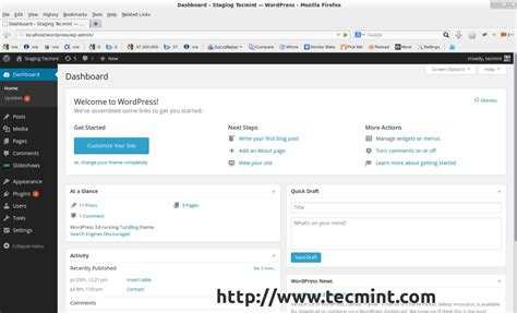 Wordpress Dashboard wordpress  released install  lamp  lemp 1024 x 622 · png