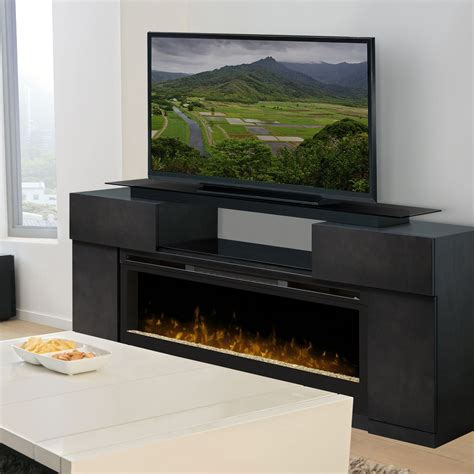 tv stands with fireplace dimplex concord media electric fireplace fireplaces at
