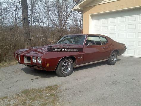 1970 Pontiac Gto 455 Ho 4 Speed
