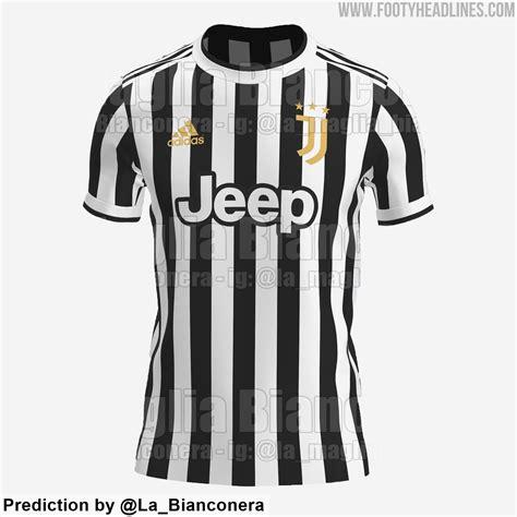 尤文2021-22赛季主场球衣曝光:黑白条纹+金色logo_PP视频体育频道