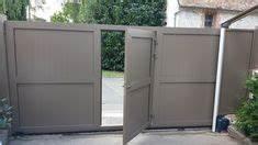 Installateur De Portail Motorisé : portail coulissant avec portillon integr portail portail coulissant portail exterieur et ~ Farleysfitness.com Idées de Décoration