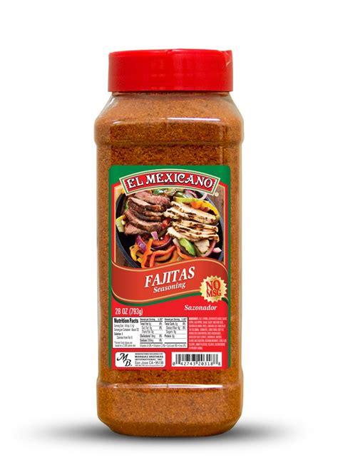 Seasoning Tray by Fajita Sazon Rojo Fajita Seasoning