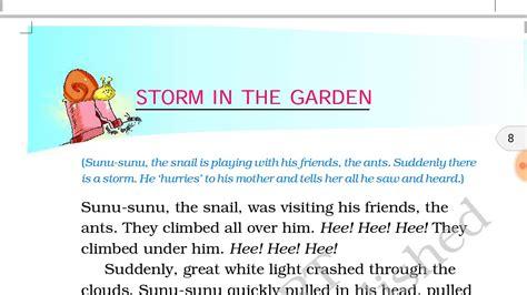36 видео 987 просмотров обновлен 8 февр. Storm in the garden हिंदी में ncert class 2nd english book marigold - YouTube