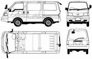 Nissan Vanette Cargo Internal Dimensions  1