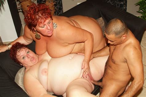 Hot Mature Bbw Louise And Mindy Show Off Their Huge Fat Breasts To Attract A Handsome Stud Big