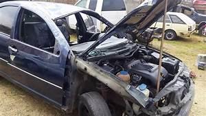Reparacion De Hojalateria Y Pintura En Vehiculo Jetta A4