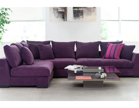 Purple Contemporary Sofa by 12 Best Ideas Of Colorful Sectional Sofas