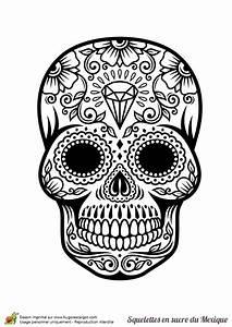 Crane Mexicain Dessin : coloriage cr ne en sucre mexicain diamants ~ Melissatoandfro.com Idées de Décoration