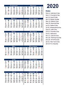 printable  accounting calendar templates calendarlabs