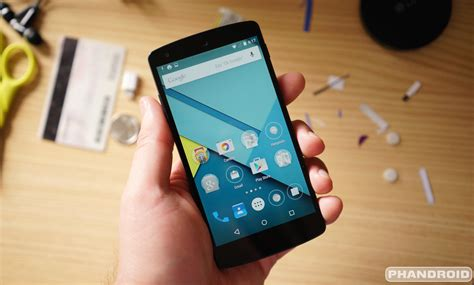 android 5 on android 5 0 lollipop on the nexus 5