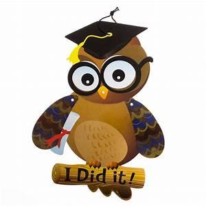 Graduation Owl Cutout