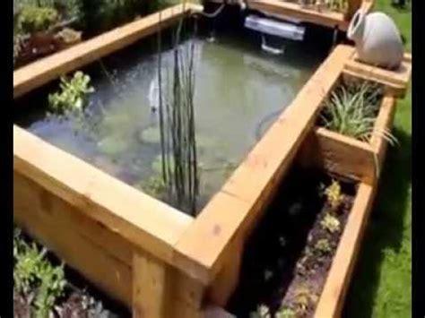 bassin de jardin en palette bassin de jardin