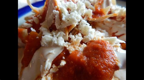 chilaquiles chilaquiles rojos mexicanos youtube