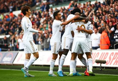 Swansea City 2-2 Tottenham Hotspur: The story of match in ...