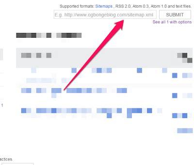 How Add Blogger Sitemap Xml Google Webmaster Tools