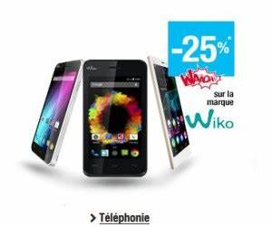 Carte De Fidelité Auchan Fr Activer : bon plan smartphone wiko avec 25 pourcent de cr dit sur ~ Dailycaller-alerts.com Idées de Décoration