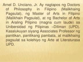 Sle Ng Resume Sa Pilipinas by Pagsulat Ng Bionote