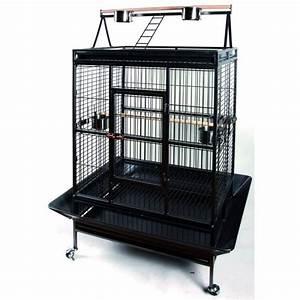 Cage A Perroquet : cage perroquet achat vente cage perroquet pas cher les soldes sur cdiscount cdiscount ~ Teatrodelosmanantiales.com Idées de Décoration