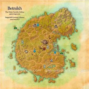 Betnikh Map - The Elder Scrolls Online | game-maps.com
