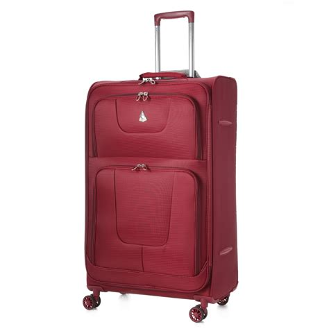 Light Weight Luggage by Aerolite Aero9978 600d Jacquard Ripstop 8 Wheel Spinner 29