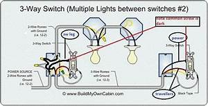 Is This An Acceptable Way To Wire A 3 Way Switch Circuit With Two Or More Lights In Between The