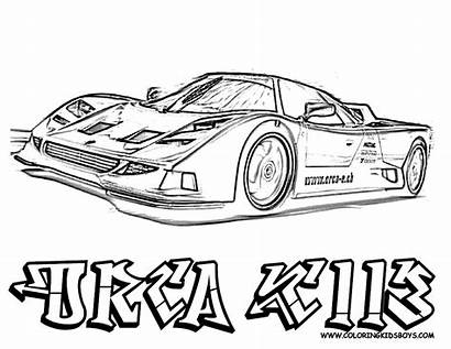 Coloring Pages Cars Boys