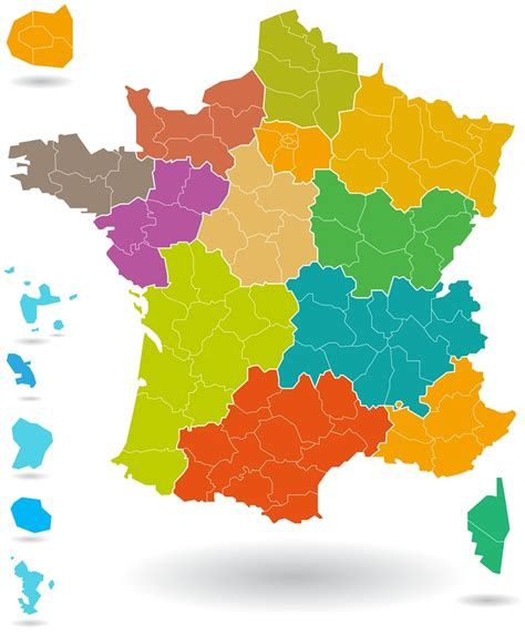 Carte De Région Vierge by Carte De Regions Vierge The Best Cart