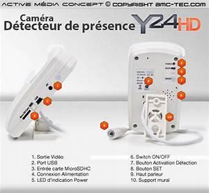 Detecteur De Presence Interieur : d tecteur de pr sence cam ra hd 720p ~ Dailycaller-alerts.com Idées de Décoration