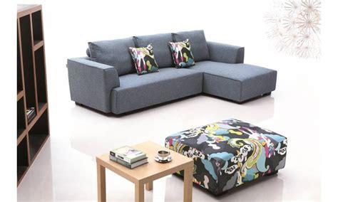 canapé d angle petit format petit canapé d 39 angle en tissu farabi lecoindesign