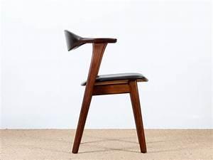Fauteuil De Bureau Scandinave : fauteuil de bureau scandinave en palissandre et h tre 1956 galerie m bler ~ Teatrodelosmanantiales.com Idées de Décoration