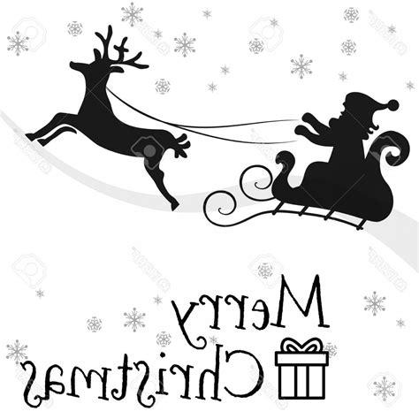 santa  reindeer drawing    clipartmag