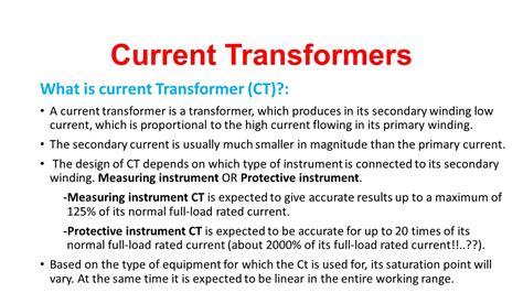 instrument transformers ppt