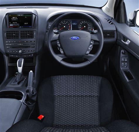 ford falcon fuel economy improved  interior