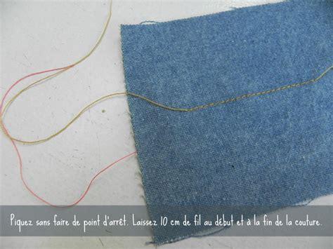 fil de couture comment arreter un fil de couture