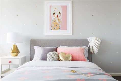 real inspiration pink grey bedroom minty magazine