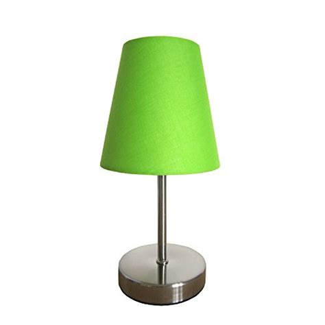 use a lime green l shade to spice up your room
