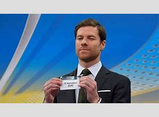 Champions League draw Arbeloa We all know that Xabi