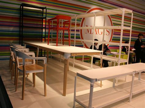 Poltrona Sdraio In Faggio : Wood & Metal Red By Magis