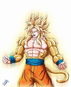 Goku Super Saiyan 5 - thekindproject