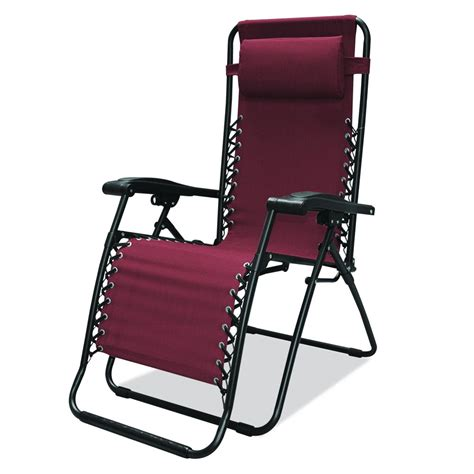 caravan sports infinity zero gravity chair burgundy ebay