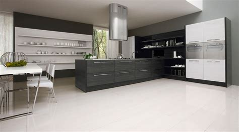 mobilia cuisine contemporary black and white kitchen by futura