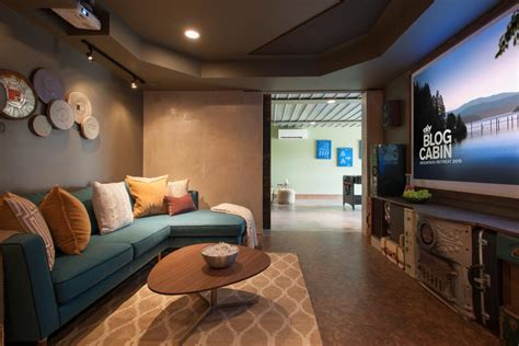 entertainment room pictures from diy network blog cabin
