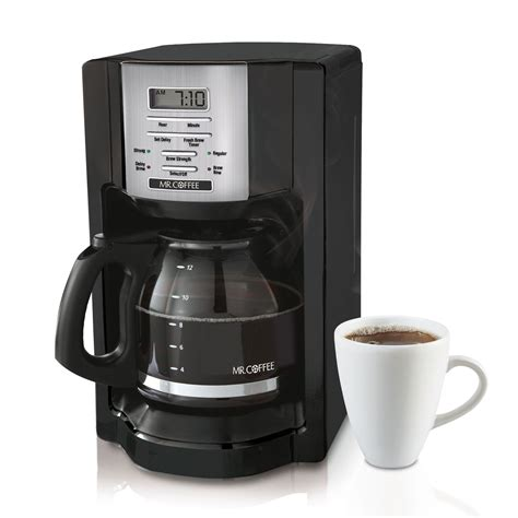 If you need a cup of coffee before the brew cycle is finished. Mr. Coffee 12-Cup Programmable Coffeemaker #BVMC-EHX23 Review