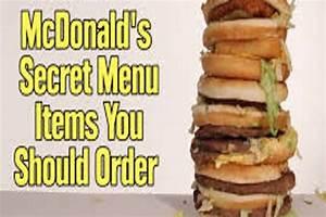 Menu Hacks   McDonald's Secret Menu You Need To Know About ...