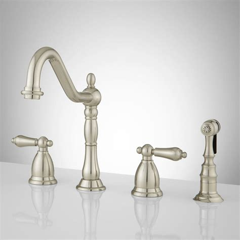 Nickel Kitchen Faucet by Brushed Satin Nickel Kitchen Faucet Contemporary