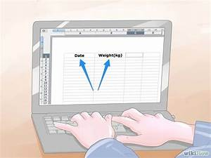 Create Org Chart In Google Sheets 4 Ways To Create A Weight Loss Chart Wikihow