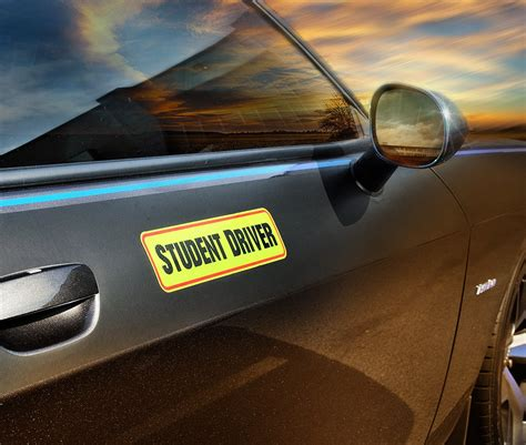 Student Driver Magnet Car Signs For The Novice Or Beginner