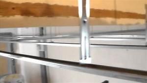 comment isoler un plafondgarage pose de suspente With comment isoler une porte de garage