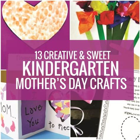 13 creative and sweet kindergarten s day crafts 785 | 13 Easy Kindergarten Mothers Day Crafts