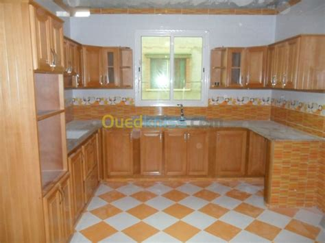 photo deco cuisine modele de cuisine en bois algerie